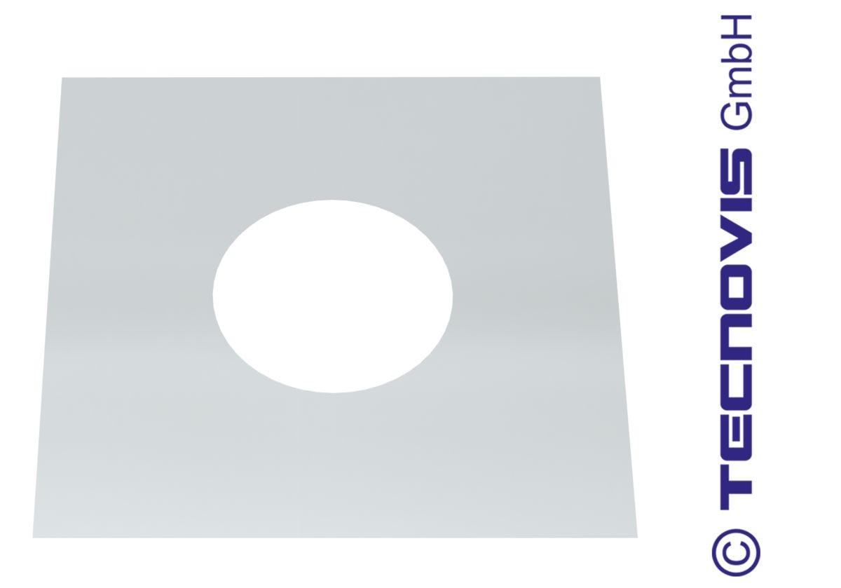 Cache Pour Conduit De Cheminée conduit de cheminee plaque coupe- feu 080mm | conduit-de