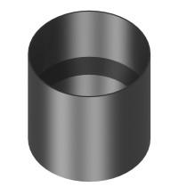 Connexion Poêle anti-bistre 130 mm
