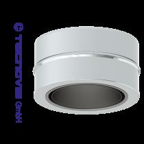 Adaptateur simple 80 mm - double paroi 100 mm (pellets)