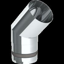 Coude à 45º - 80 mm
