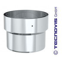Connection INOX Tecnovis rigide vers flexible